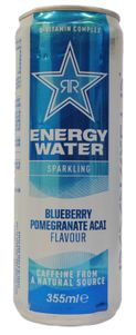 Blueberry Pomegranate Acai Flavoured Sparking Energy Water